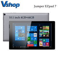 Puente Original EZpad 7 Tablet PC 10,1 pulgadas 4GB 64G Windows Intel Cherry Trail Quad Core TF tarjeta Bluetooth WiFi Micro HDMI