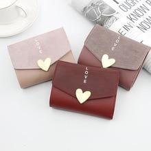 Hot Korean Version Of Women's Wallet Short Heart Small Capac