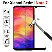 Szkło do Xiaomi redmi note 7 pełne ochronne szkło hartowane na ekran do Xiaomi xiomi redmi note 7 folia ochronna przód dotykowy glas