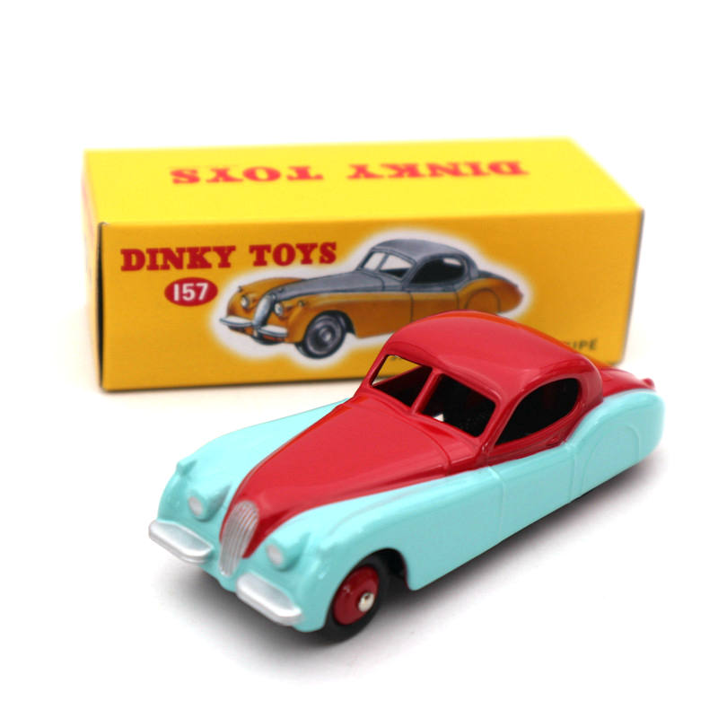 DeAgostini 1:43 Dinky Toys 157 For XK120 Coupe Diecast Models Collection