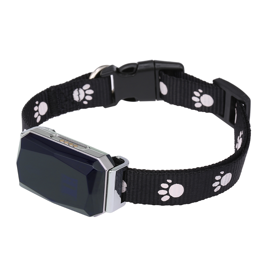 Waterproof IP67 Mini Pets GPS AGPS LBS Wifi Tracker Real-time Tracking Collar Dog Cat Find Device Bell Rings Tracking Locator
