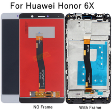 "5.5"" LCD for Huawei Honor 6X Display BLN-L24 BLN-AL10 BLN-L21 BLN-L22 display For GR5 2017 Digitizer Assembly Repair Parts"