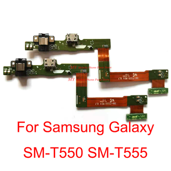 High Quality USB Charger Charging Dock Port Jack Connector Board Flex Cable For Samsung Galaxy Tab A 9.7 T555 SM-T550 T555 Part image