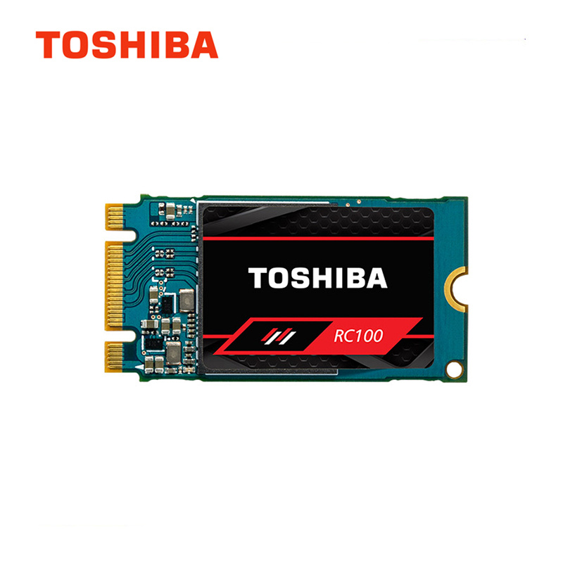 Toshiba RC100 3D NAND SSD 120GB 240GB Interne Solid State Drive M.2 2242 NVMe PCIe Gen3x2 Festplatte für Laptop Desktop PC