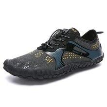 Odkryte męskie buty damskie Aqua pływanie obuwie nadmorskie spacery tańsze oddychające szybkie suche plaża pięć palców buty Sapatilhas
