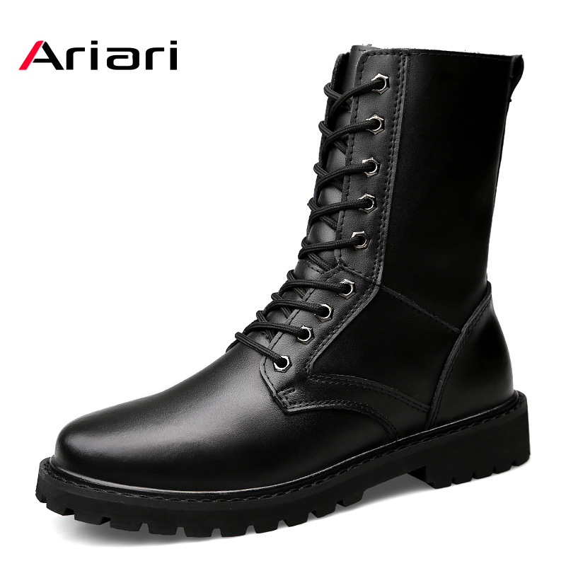 Tactical Military Boots Mens Working Safety Shoes Army Black Combat Boots Men Shoes Desert For Male