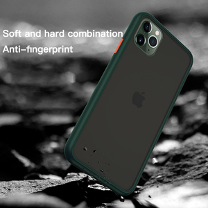 Image 2 - Benks Luxury Matte Phone Case For iphone 11/11 Pro/11 Pro Max Anti fall Full Protection Back Cover Transparent Contrast Shell