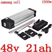 48V 1000W 1500W batteria 48v 20ah Batteria Elettrica Della Bicicletta 48V 10AH 14AH 17.5AH 18AH 21AH uso della batteria al litio samsung cellulare