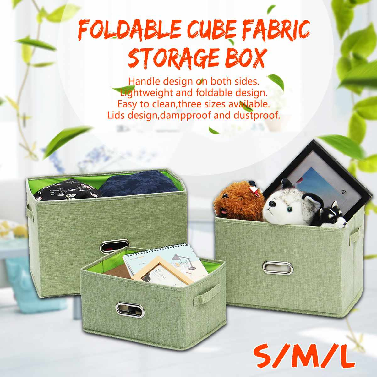 Us 35 09 48 Off Foldable Cube Fabric Storage Box Thickened For Home Officebook Underwear Bra Socks Ties Toys Basket Bins Containers On