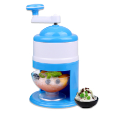 DIY портативная ручная дробилка для льда, бритва для детей, шинковка, снежный конус, бритая, Slushie, кухонная машина для детей, подарок