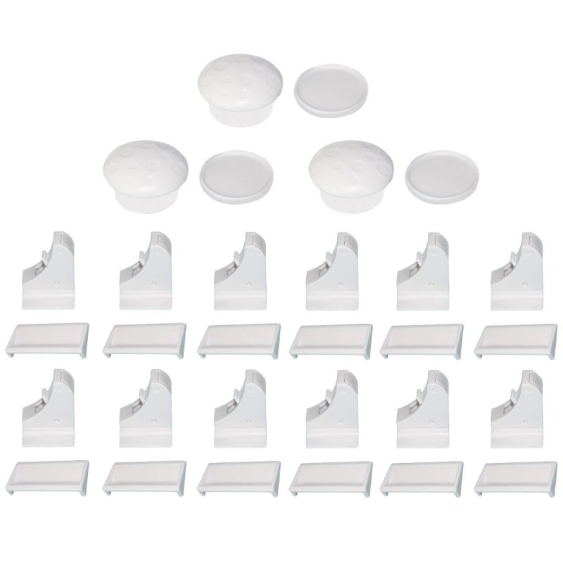 Universal Magnetic 15 Pcs Child Protection Baby Safety Lock Drawer Latch Cabinet Door Limiter Infant Security Locks