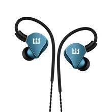 TRI I4 1BA 1DD Hybrid in Ear auricolare Running Sport Technology HIFI earplug con auricolare MMCX da 3.5mm