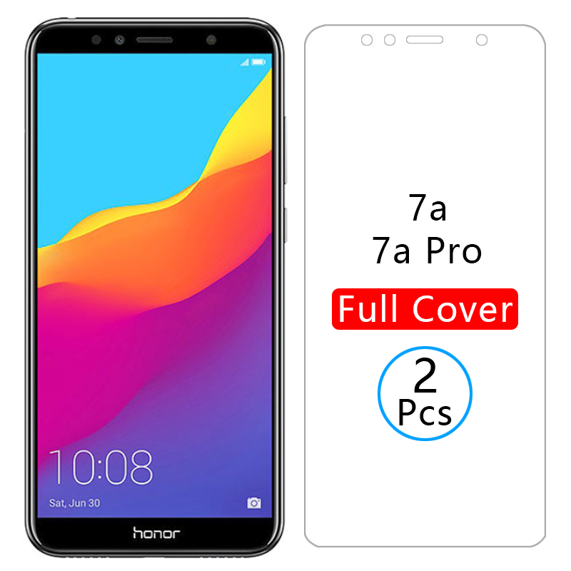 protective glass honor 7a pro screen protector tempered glas for huawei honor7a honer 7 a a7 7apro film huawey huwei hawei onor(China)
