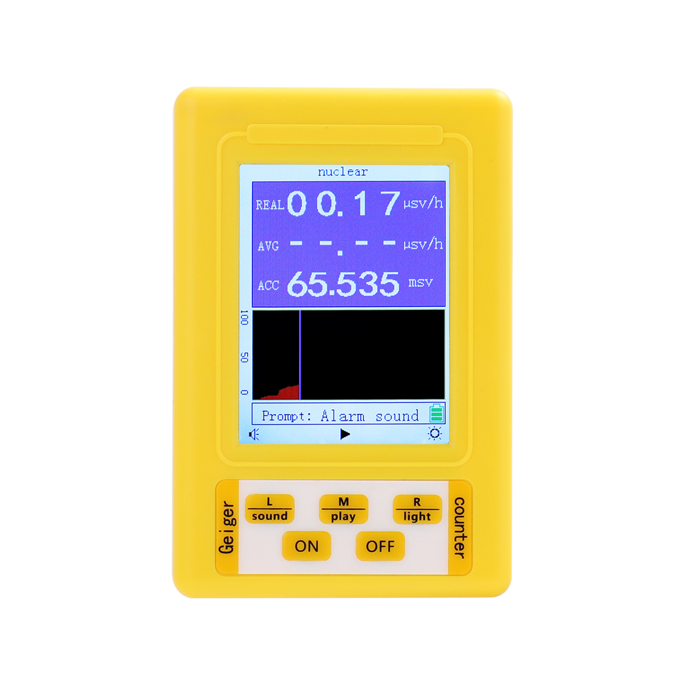 Electromagnetic radiation Detector Upgrade Geiger Counter Nuclear Radiation Dosimeter Detector Radiation Dosimeter Marble Tester