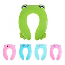 Cushion Toilet-Seat-Pad Travel Chair-Pad Potty Training-Cover Folding Comfortable Baby