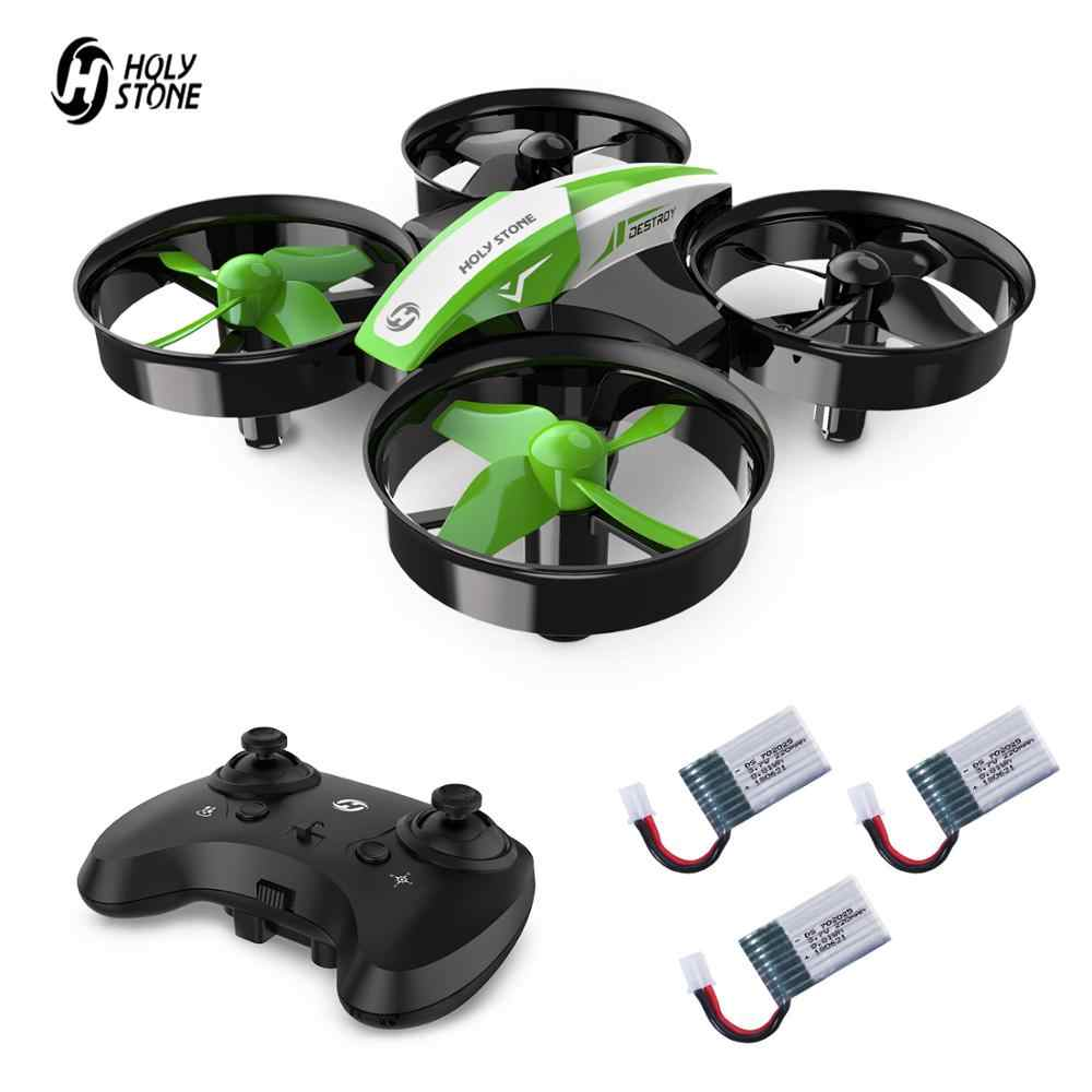 Holy Stone HS210 MINI Drone One Key Take off/Land Auto Hovering 3D Flip MINI NANO Drone RC เฮลิคอปเตอร์ quadrocopter สำหรับเด็ก