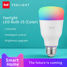 Xiaomi Yeelight Smart Bulb 1S Mijia Smart home Colorful lamp  800 Lumens night light work with Google Assistant Homekit voice