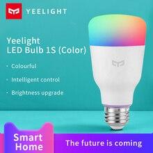 Xiaomi yeelightスマート電球1s mijiaスマートホームカラフルなランプ800ルーメン夜の光のワークgoogleアシスタントhomekit音声