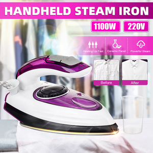 Electric Garment Steamer Steam Iron For Clothes For Household Steam Generator Road Irons Ironing Ceramic Soleplate EU Plug