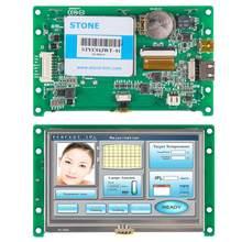 Module d'affichage LCD TFT 4.3 pouces, écran tactile avec logiciel + Interface série + panneau