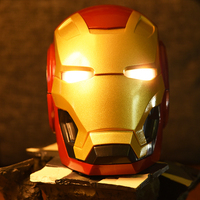 Iron Man Mobile phone Speakers Bluetooth V4.2 Speaker Subwoofer With FM Radio Support TF Card For Phone PC Speaker BEST GIFT