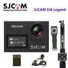 SJCAM SJ6 Legend 2 'сенсорный экран пульт дистанционного действия шлем Спортивная DV камера Водонепроницаемая 4K NTK96660 16MP RAW С передним экраном
