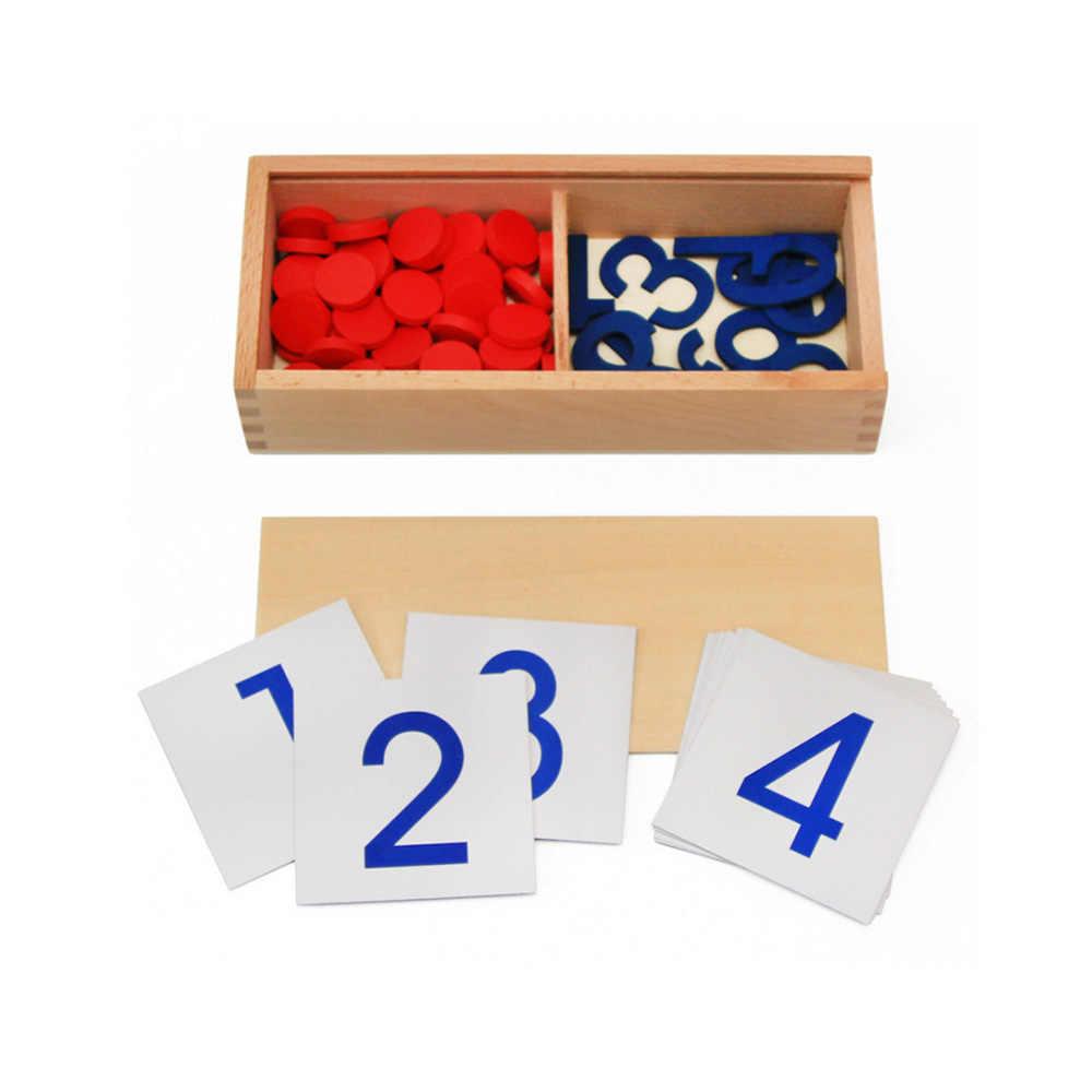 Ahsap Erken Egitim Montessori Matematik Oyuncak Cips Oyunu Dijital