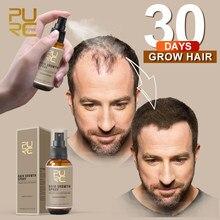 PURC nowy Spray do wzrostu włosów szybki wzrost włosów utrata włosów leczenie do rzadkich włosów pielęgnacja włosów 30ml