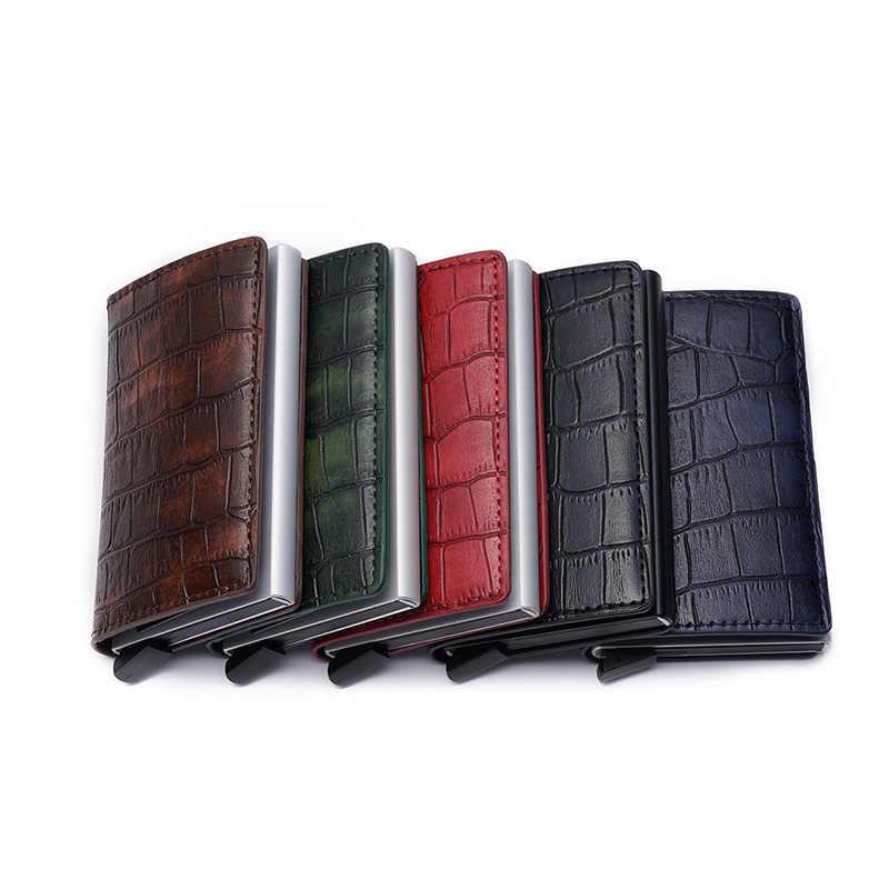 DIENQI akıllı Rfid erkek cüzdan para çantası erkek Vintage siyah kısa çanta 2020 küçük sihirli ince ince cüzdan Mini cüzdan carteira