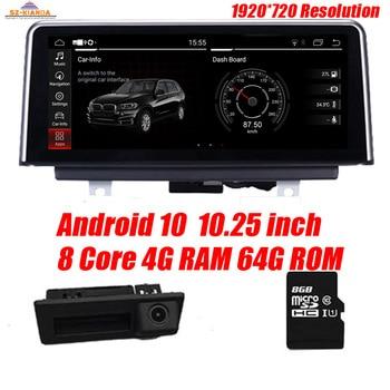 Android 10.0 car dvd player for BMW X5 E70 X6 E71 (2007-2013) CCC CIC system autoradio gps navigation Car multimedia System PC for bmw cic e70 e71 e7x x5 x6 parking reverse image emulator rear camera activator