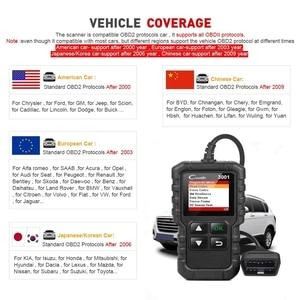 Image 5 - LAUNCH X431 Creader 3001 Full OBDII/EOBD code reader scanner Multilingual CR3001 Car diagnostic tool PK ELM 327