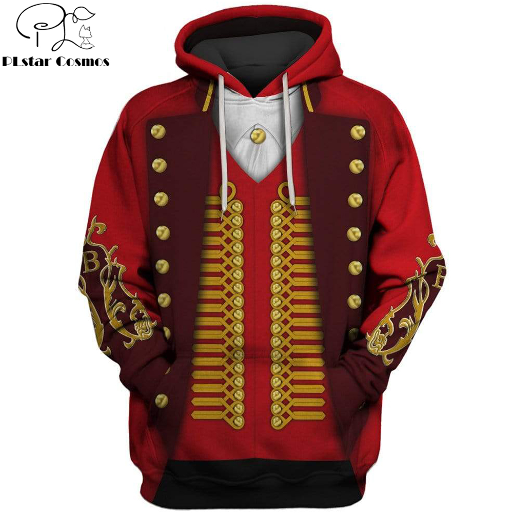 2019 Fashion Men Hoodies 3d The Greatest Showman Full-Print Sweatshirt Hoodie Cosplay costumeUnisex Streetwear Uniform Jackets