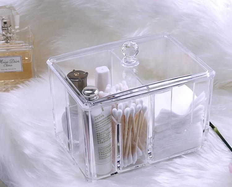 Cotton pad plastic storage box (6)