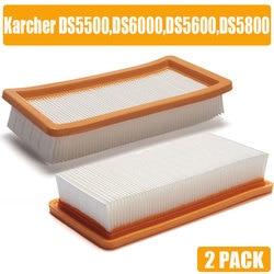 Filtro Karcher HEPA para DS5500 DS6000 DS5600 DS5800 piezas de aspiradora de calidad fina Karcher 6.414-631,0 filtros hepa