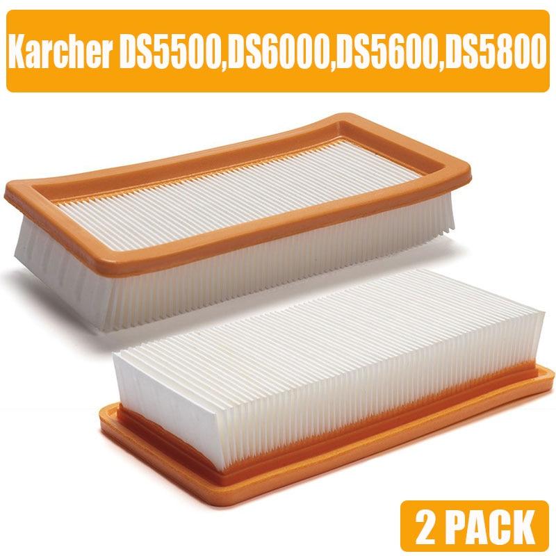 Karcher HEPA filter voor DS5500 DS6000 DS5600 DS5800 fijne kwaliteit stofzuiger Onderdelen Karcher 6.414-631.0 hepa filters