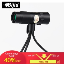 BIJIA 15-80x25 monocular telescope eyepiece portable and zoomable mini prismaticos  with garden tools