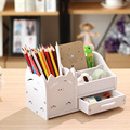 Многофункциональная школьная настольная ручка  карандаши  чехол для ящика  коробка для хранения  настольная простая полка для карандашей  о...