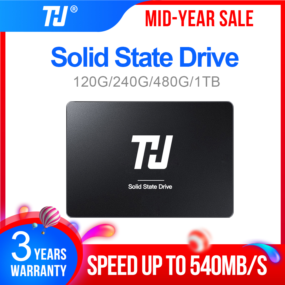 THU 120GB 240GB 480GB 1TB SSD SATA 2 5inch Internal Solid Hard Disk Drive 540MB s HD SSD DISK for PC Laptop notebook