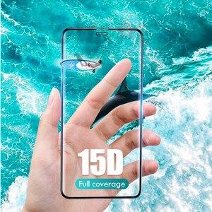 Image 4 - 15D フル保護強化ガラスのための iphone 6 7 6s 8 プラス X XS 最大 XR 用 iphone 11 プロマックス 7 6 4s ガラス