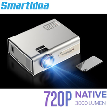 Smartldea 1920x720p portable led projector Support 1080P HD USB Home Theater proyector