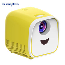 Newest Porjector Built in 5 Watt Stereo Speakers HD Portable Home Theater Pocket  LED Mini Kids Education