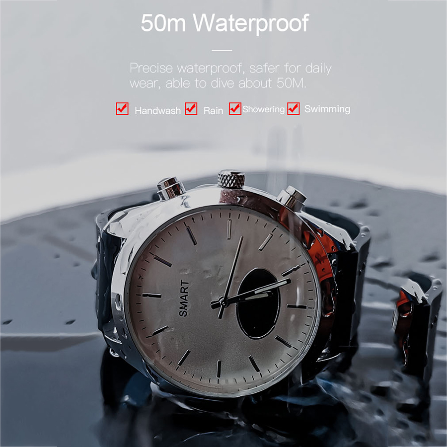 AIDISITE Quartz Movement Smart Watch Men Women Quartz Watches Heart Rate Blood Pressure Monitor Smartwatch For Android IOS in Smart Watches from Consumer Electronics