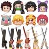 Demon Slayer WM6116 Building Blocks Mini Dolls Action Figure Tanjirou Nezuko Giyuu Kyoujurou Assembling Toys kids birthday gifts