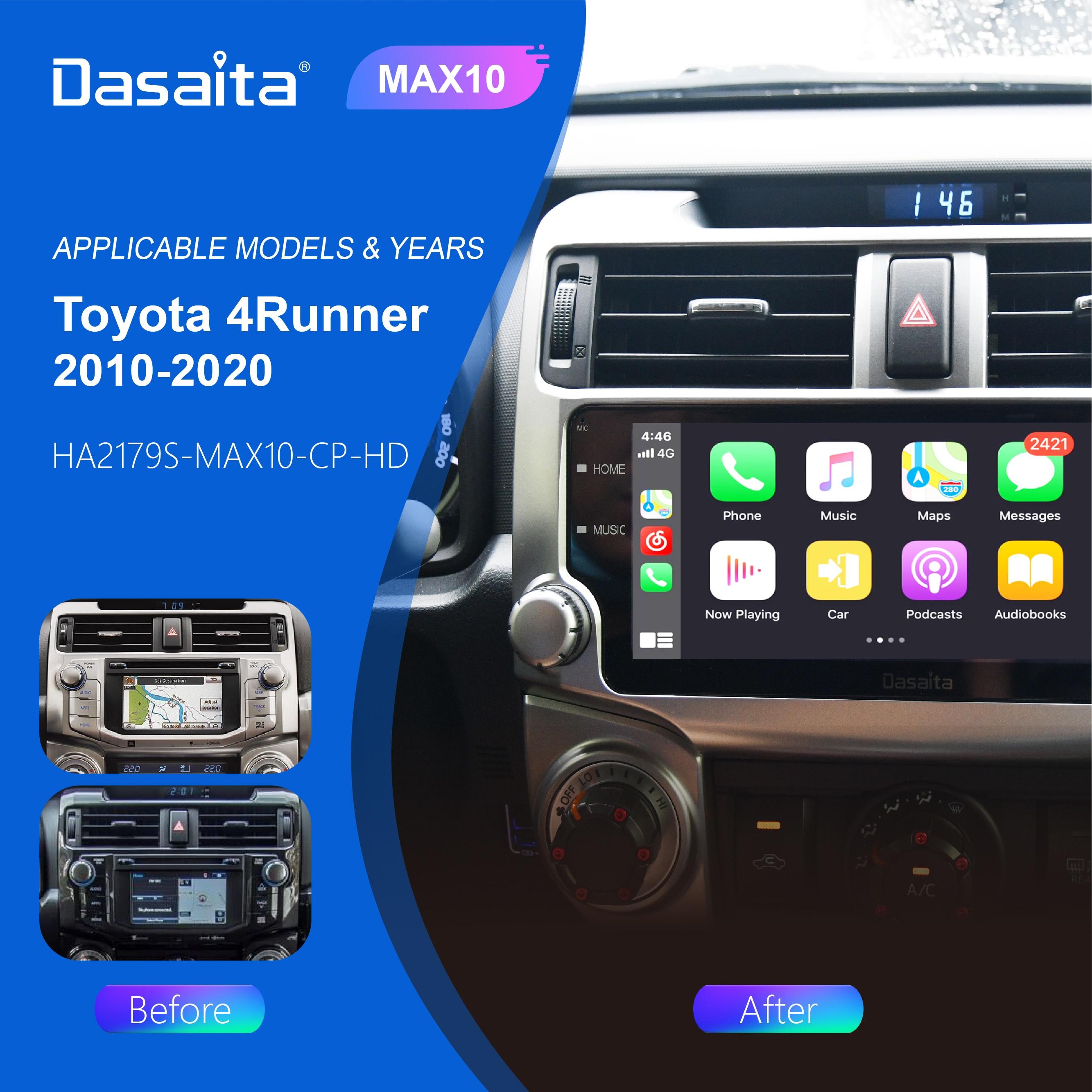"""Dasaita 10.2 """"Android 10,0 DSP Auto Radio für Toyota 4Runner GPS 2011 2014 2015 2017 2018 2019 2020 navigation 64G ROM"""