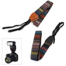 Universal Camera Neck Shoulder Wrist Strap Vintage Carrying Belt for Nikon Canon Sony Lumix SP99