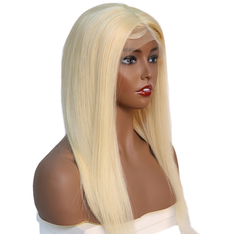 Honey Blonde 613 Lace Front Wig Pre Plucked With Baby Hair Alibele 13x4 Lace Frontal Wig Remy Brazilian Straight Human Hair Wig