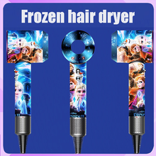 Hair-Dryer Leafless Negative-Ion New Cute Hollow Constant Disney Wired Frozen Temperature-Adjustment