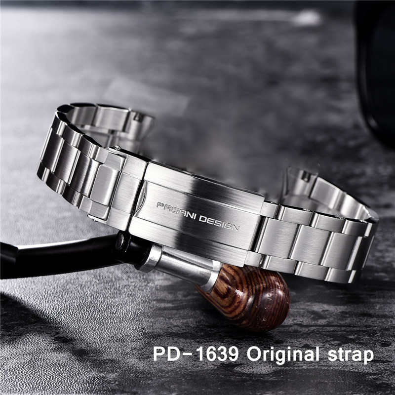 PAGANI DESIGN Original Strap PD-1639 Model Stainless Steel Strap 20mm 22mm