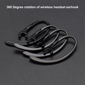 Bluetooth-наушники, прозрачные, мягкие, силиконовые, зажим петли, гарнитура 6/7/8/9 мм, вращающийся на 360 градусов, аксессуары для наушников