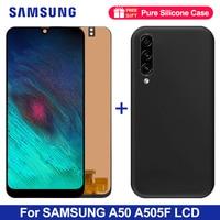 6.4 lcd lcd lcd para samsung a50 SM A505FN/ds a505f/ds a505 display lcd tela a50 a505 a505g display lcd digitador assembléia|LCDs de celular| |  -